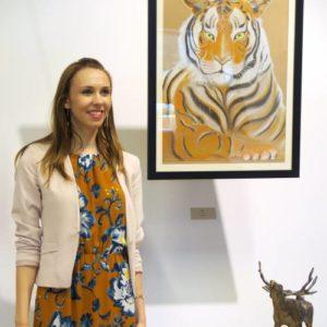 Kaisa Kangro at Tallinn Zoo art exhibition 2016 August