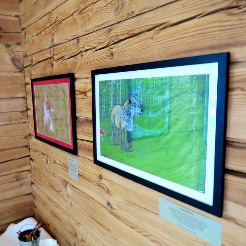 Seller resuaturant, kids play area pastel drawings - Kaisa Kangro - 2016